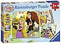 DRA: Rapunzel. Puzzle 3 x 49 Teile