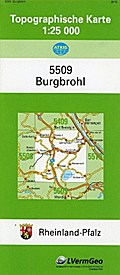 Burgbrohl 1 : 25 000