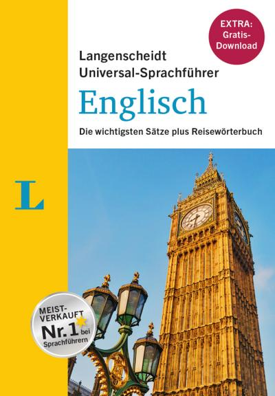 """Langenscheidt Universal-Sprachführer Englisch - Buch inklusive E-Book zum Thema """"Essen & Trinken"""": Die wichtigsten Sätze plus Reisewörterbuch"""