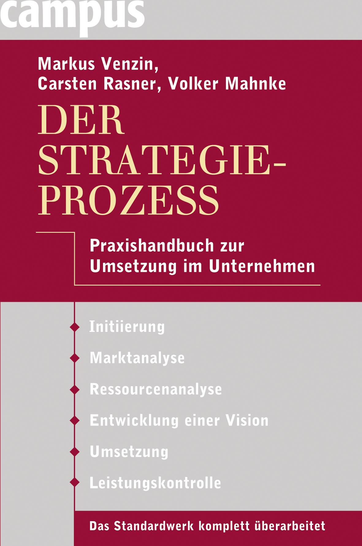 Der Strategieprozess Markus Venzin
