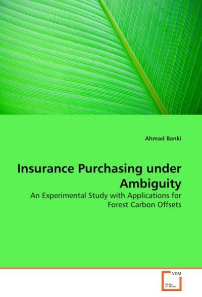 Insurance Purchasing under Ambiguity