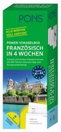 PONS Power-Vokabelbox Französisch in 4 Wochen
