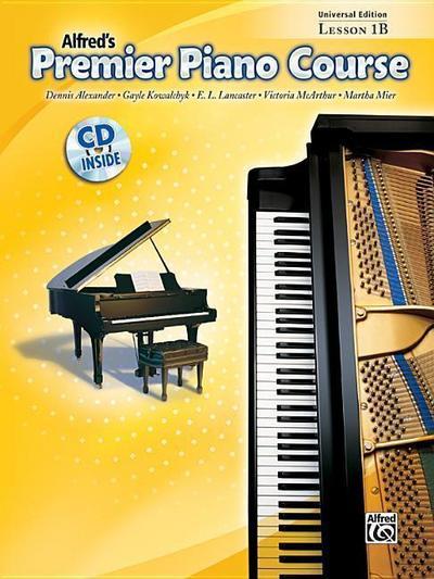Premier Piano Course Lesson Book, Bk 1b
