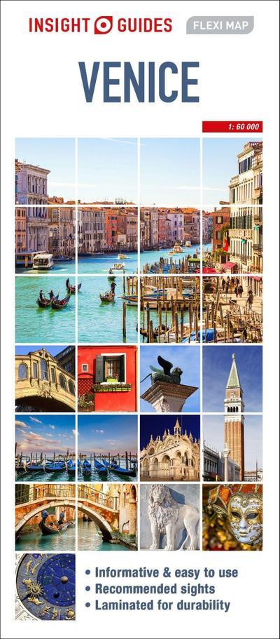 Insight Guides Flexi Map Venice