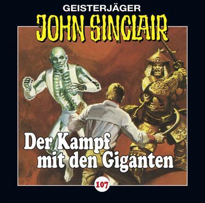 John Sinclair - Folge 107; Der Kampf mit den Giganten. Teil 3 von 3.; Geisterjäger John Sinclair; Deutsch; Spieldauer 60 Min