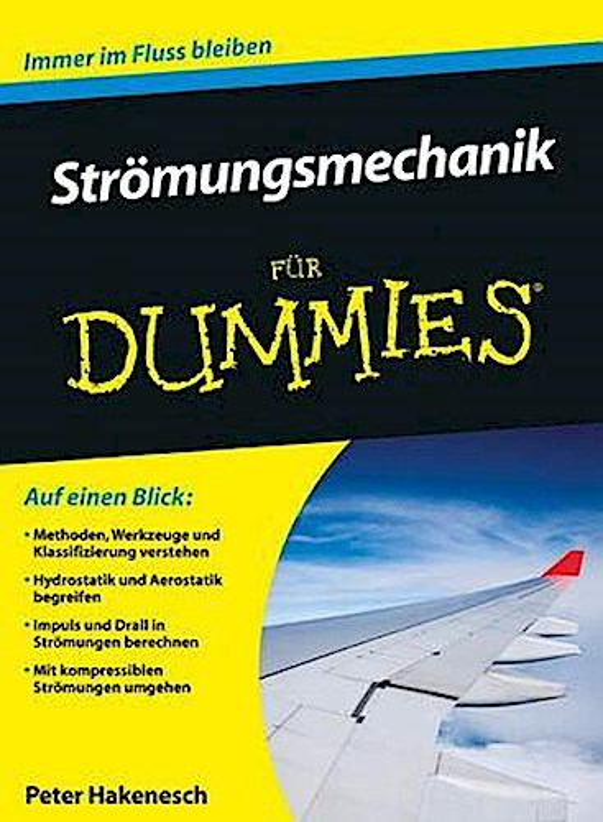 NEU Strömungsmechanik für Dummies Peter Hakenesch 708826