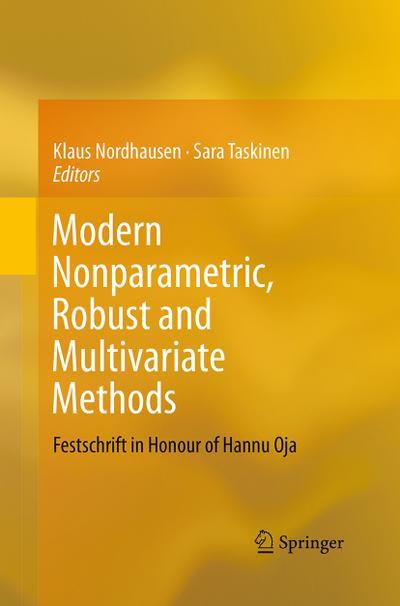 Modern Nonparametric, Robust and Multivariate Methods