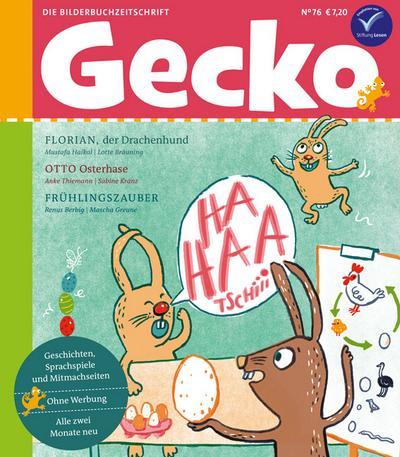 Gecko Kinderzeitschrift 76