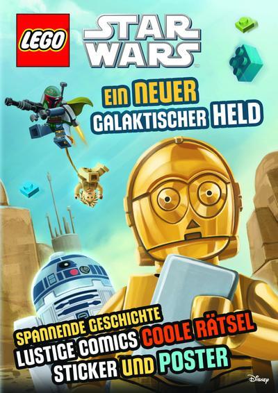 LEGO® Star WarsTM Ein neuer galaktischer Held: mit Sticker und Poster