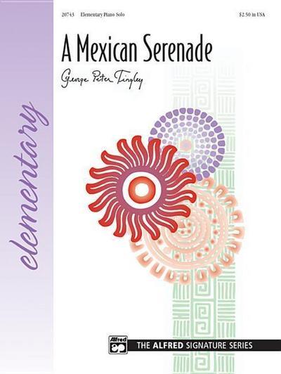 A Mexican Serenade: Sheet