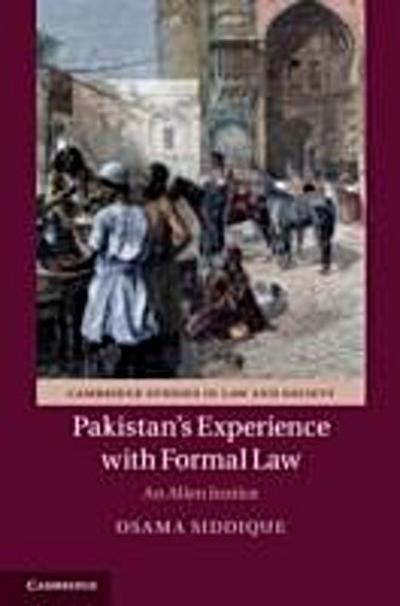 Pakistan's Experience with Formal Law