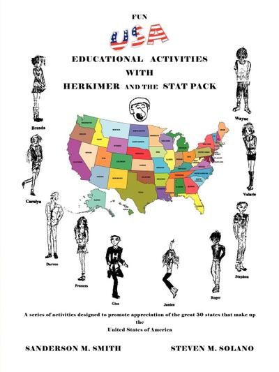 Fun USA Educational Activities with Herkimer and the Stat Pack