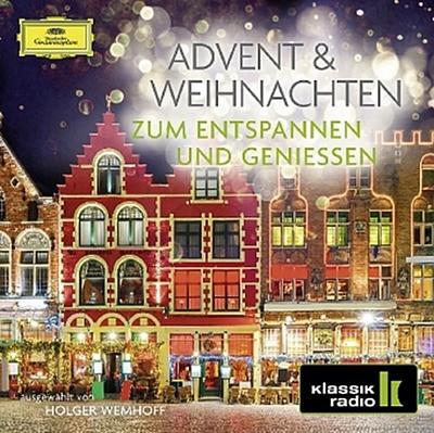 Advent & Weihnachten - Zum Entspannen und Genießen, 2 Audio-CDs