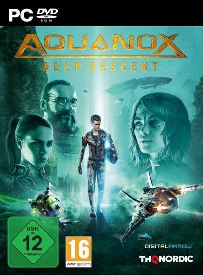 Aquanox Deep Descent. Für  Windows 7/8/10 (64-Bit)