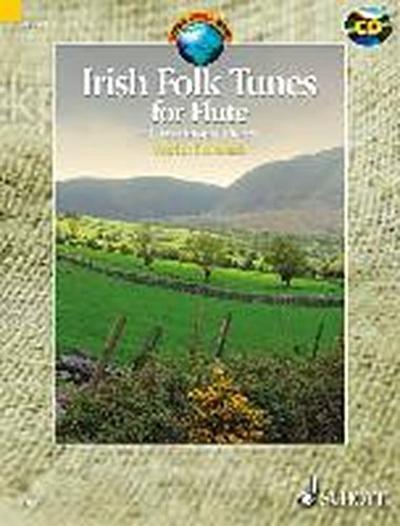 Irish Folk Tunes for Flute, m. Audio-CD