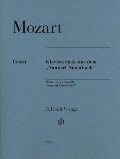 """Klavierstücke aus dem """"Nannerl-Notenbuch"""""""