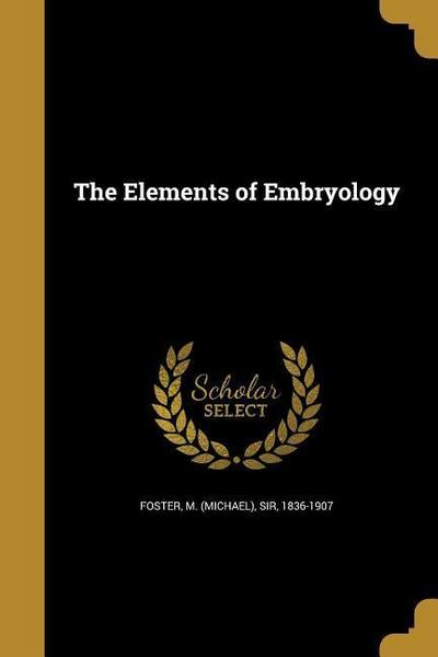 ELEMENTS OF EMBRYOLOGY