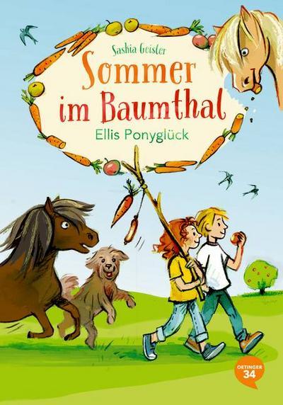 Sommer im Baumthal; Ellis Ponyglück; Deutsch; Bitte diese Informationen aufbewahren. Achtung! Nicht für Kinder unter 36 Monaten geeignet. Kleinteile. Verschluckungs- und Erstickungsgefahr.