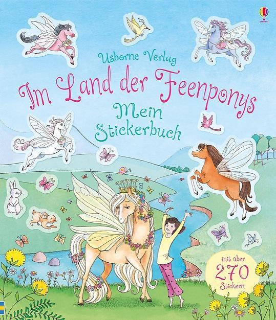 Im Land der Feenponys: Mein Stickerbuch Suzanna Davidson 9781782324645