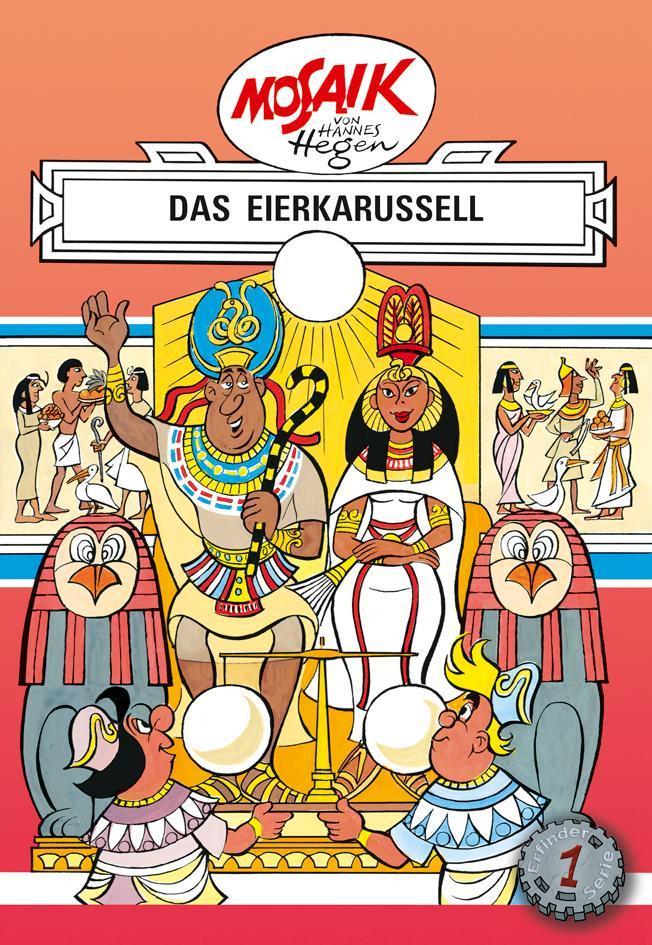 Hannes Hegen ~ Die Digedags. Erfinder-Serie 01. Das Eierkarussell 9783730220016