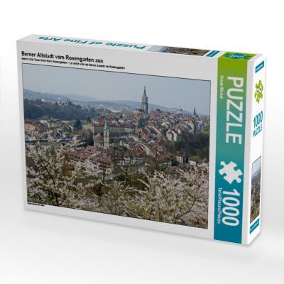 Berner Altstadt vom Rosengarten aus 1000 Teile Puzzle quer - CALVENDO Verlag Gmbh - Spielzeug, Deutsch, Susan Michel, Bern, Bern