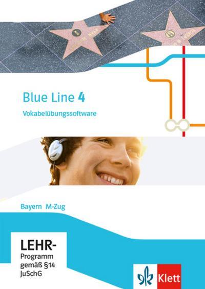 Blue Line 4 M-Zug. Ausgabe Bayern. Vokabelübungssoftware CD-ROM Klasse 8
