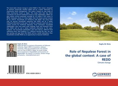 Role of Nepalese Forest in the global context: A case of REDD
