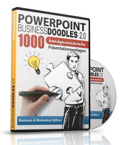 PowerPoint BusinessDoodles 2.0 - 1000 Handgezeichnete Präsentationsvorlagen für PowerPoint