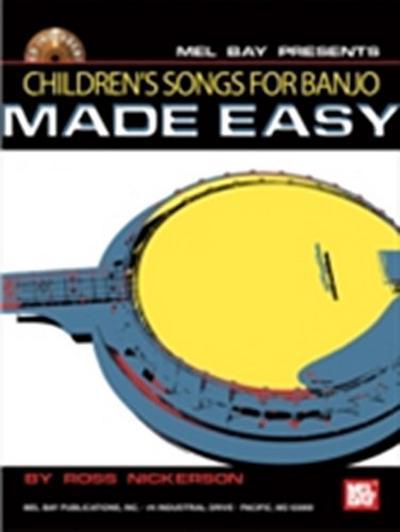 Children's Songs for Banjo Made Easy