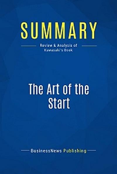 Summary: The Art of the Start