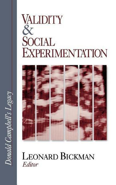 Validity and Social Experimentation: Donald Campbell's Legacy