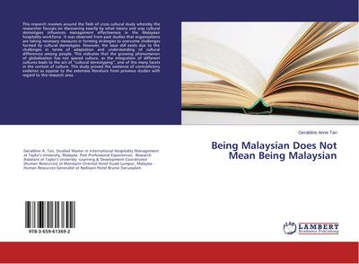 Being Malaysian Does Not Mean Being Malaysian