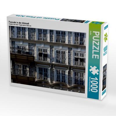 Fassade in der Altstadt (Puzzle)