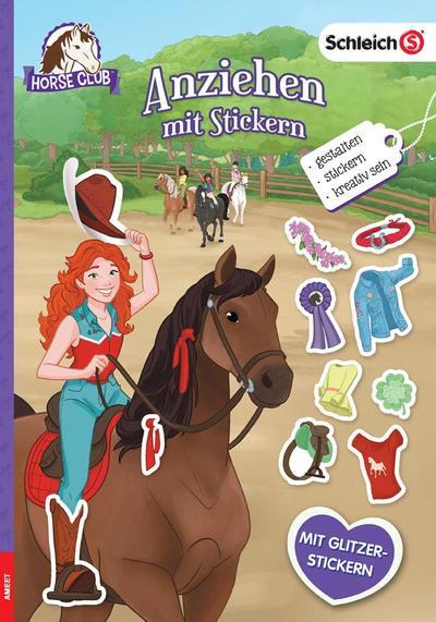 SCHLEICH® Horse Club - Anziehen mit Stickern