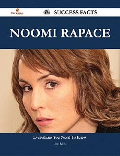 Noomi Rapace 63 Success Facts - Everything you need to know about Noomi Rapace