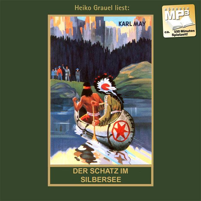 Der Schatz im Silbersee. MP3-CD Karl May