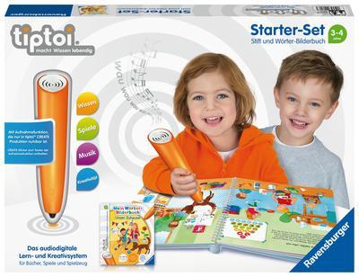 tiptoi® Starter-Set: Stift und Wörter-Bilderbuch