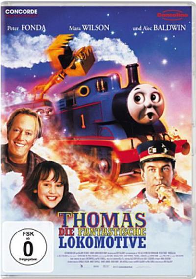 Thomas, die fantastische Lokomotive, 1 DVD, deutsche u. englische Version