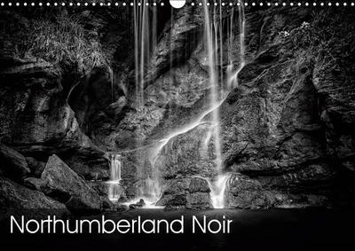 Northumberland Noir (Wall Calendar 2019 DIN A3 Landscape)