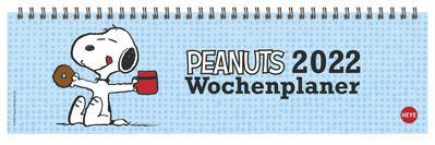 Peanuts Wochenquerplaner - Kalender 2022