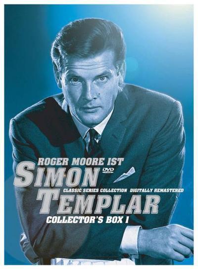 Simon Templar - Collector's Box 1 Season 1, 8 DVD-Videos, dtsch. u. engl. Version