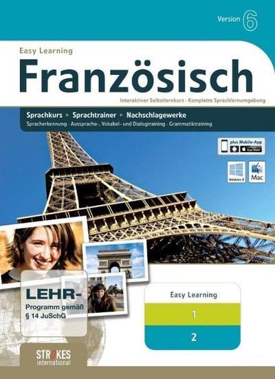 Strokes Easy Learning Französisch 1+2 Kombipaket