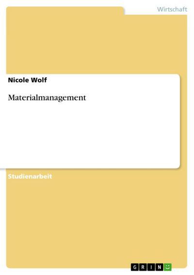 Materialmanagement