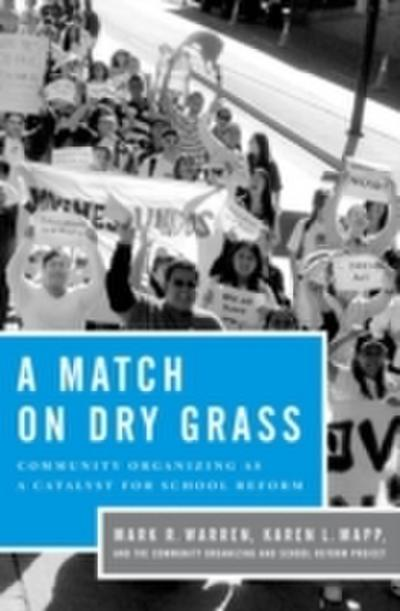Match on Dry Grass