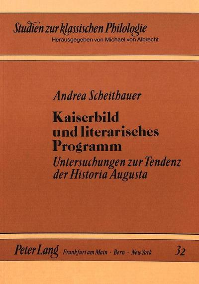 Kaiserbild und literarisches Programm