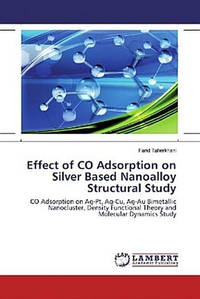 Effect of CO Adsorption on Silver Based Nanoalloy Structural Study