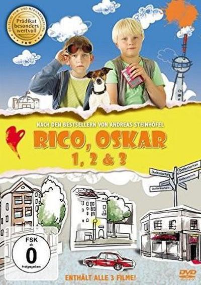 Rico und Oskar 1-3, 3 DVDs