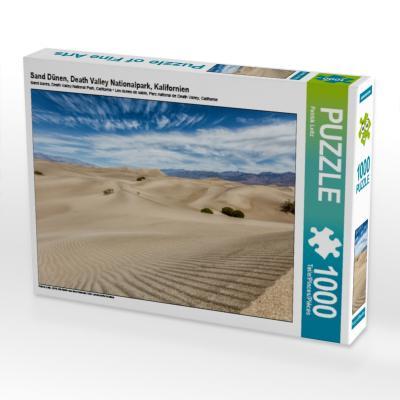 Sand Dünen, Death Valley Nationalpark, Kalifornien (Puzzle)