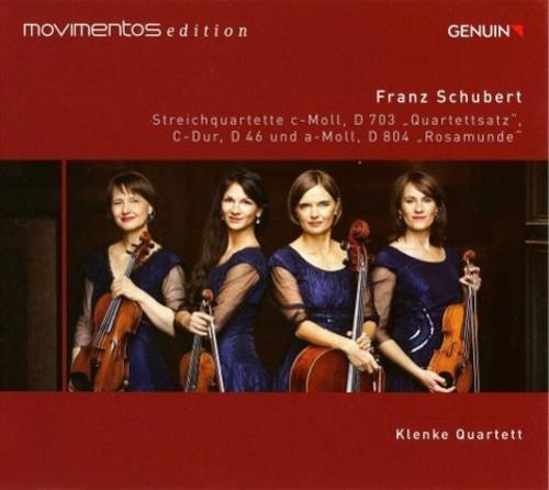 Streichquartette D 703,D 46/+(Movimentos Ed.) Klenke Quartett