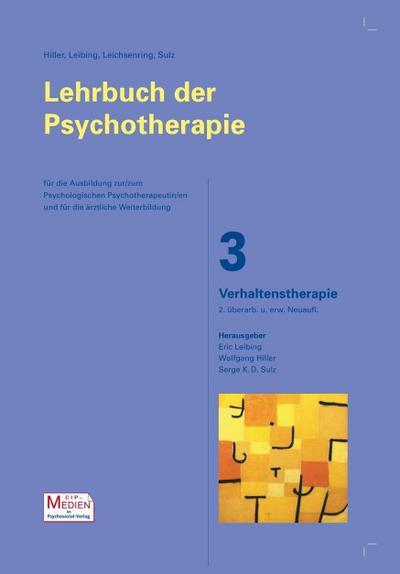 Lehrbuch der Psychotherapie Verhaltenstherapie